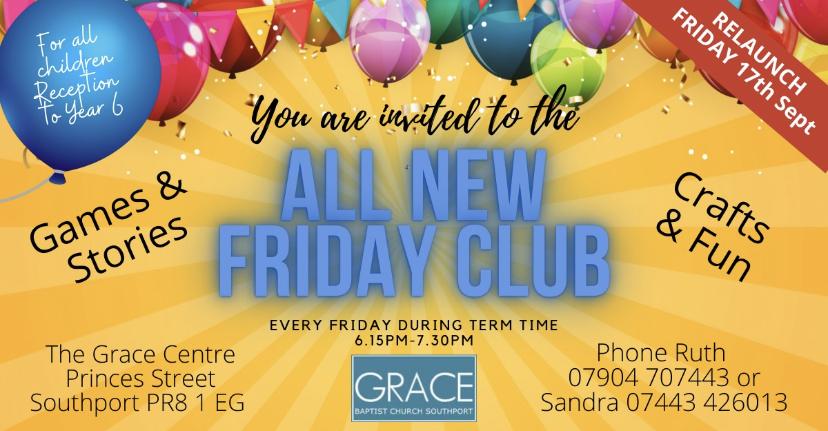 friday club info