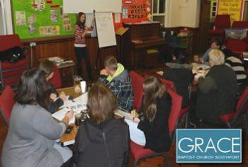 English Class at Grace